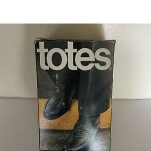 Totes Rain Shoe Mens Rubber Loafer Style Overshoes